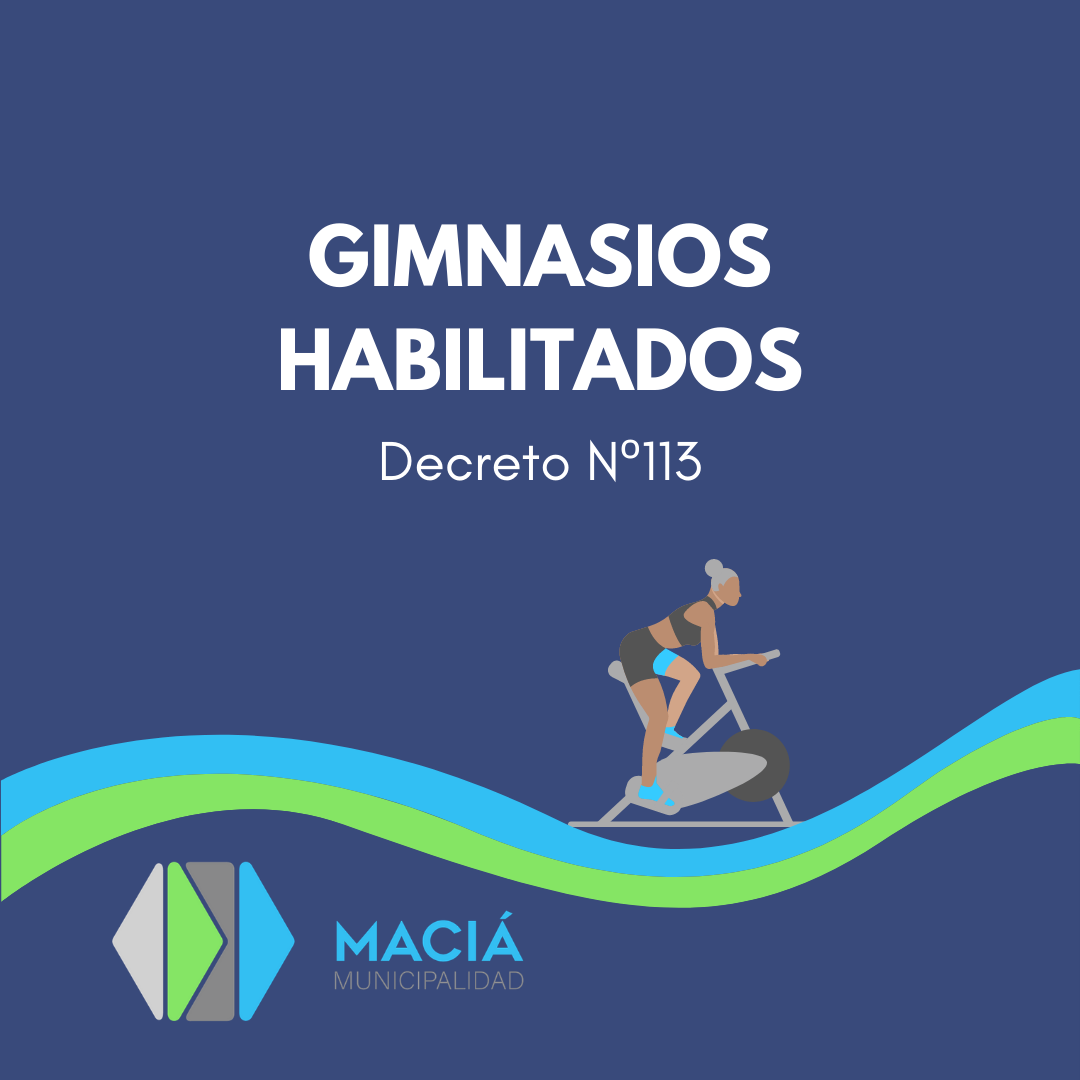 NUEVA ACTIVIDAD HABILITADA: GIMNASIOS