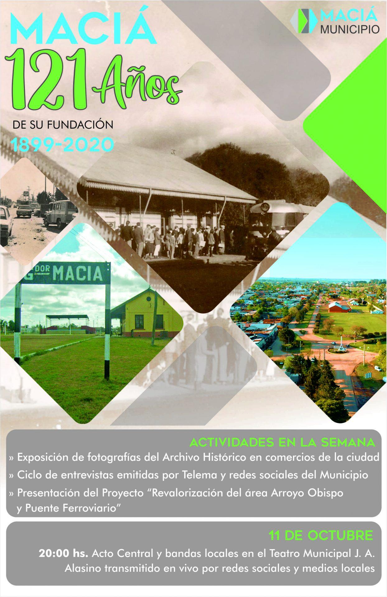 MACIÁ CUMPLE 121 AÑOS