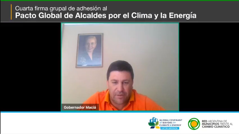 FIRMA DEL PACTO GLOBAL DE ALCALDES POR EL CLIMA