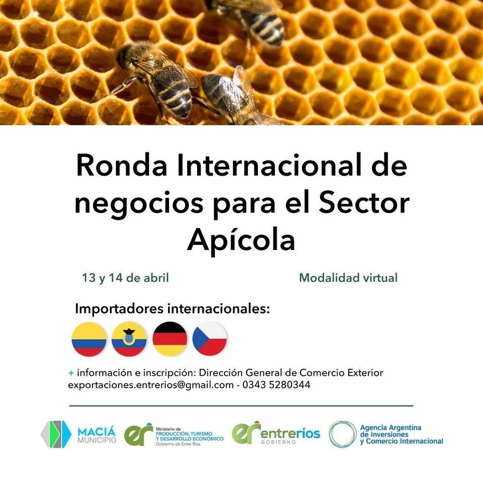 ABRIÓ LA INSCRIPCIÓN A LA RONDA INTERNACIONAL DE NEGOCIOS PARA EL SECTOR APÍCOLA