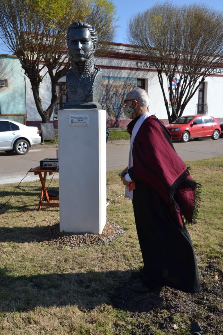 HOMENAJE A FRANCISCO RAMÍREZ A 200 AÑOS DE SU PASO A LA INMORTALIDAD
